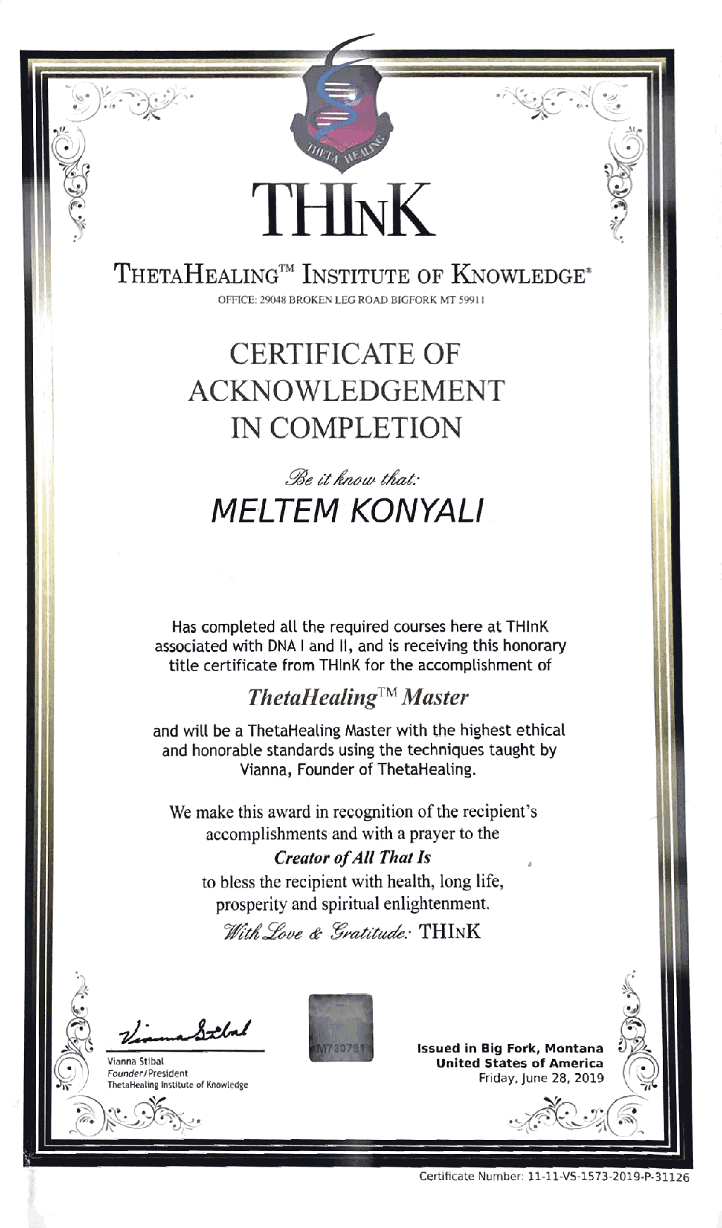 acknowledgement-in-completionb